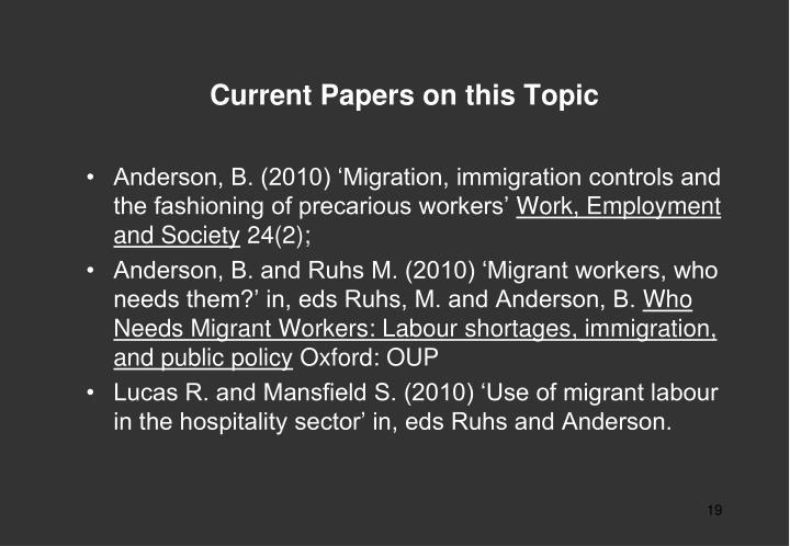 current topics for essay