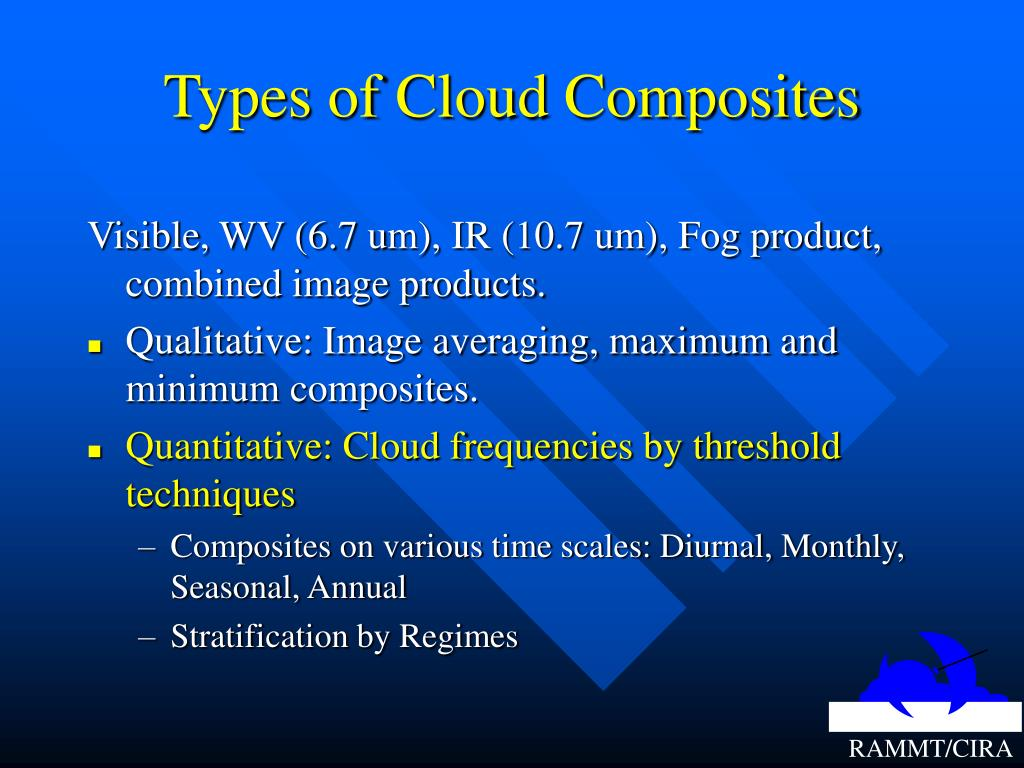 Types of Cloud Composites