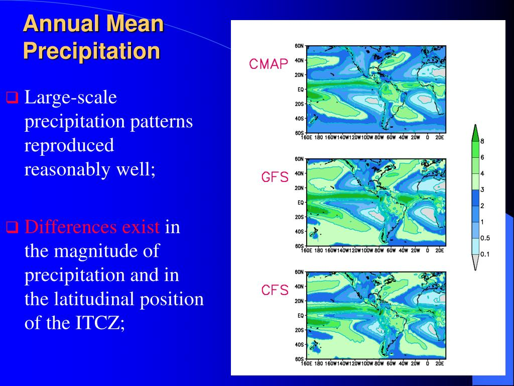 Annual Mean Precipitation