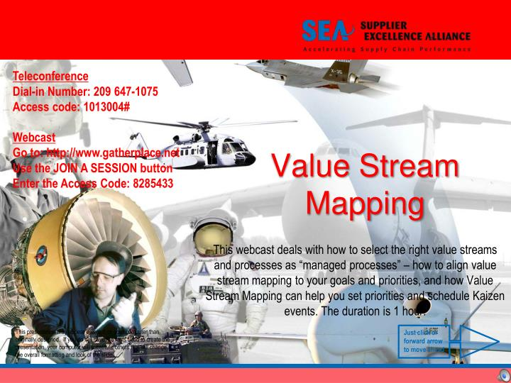 value stream mapping n.