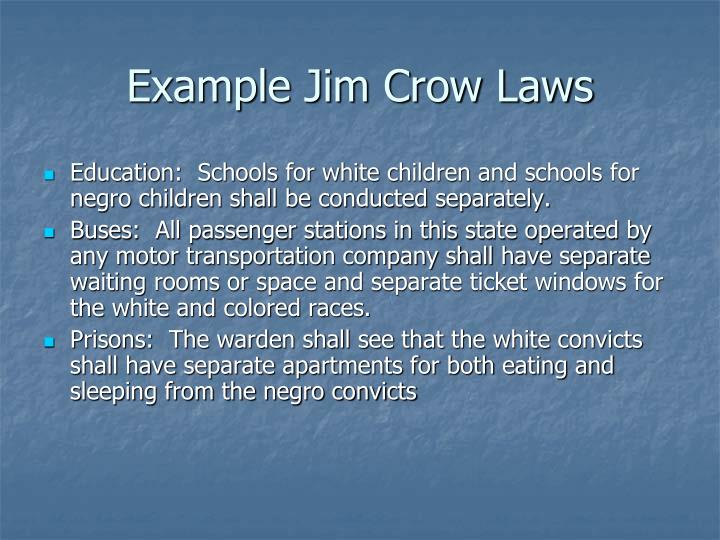 Ppt Jim Crow Emancipation Was Not Enough Powerpoint Presentation