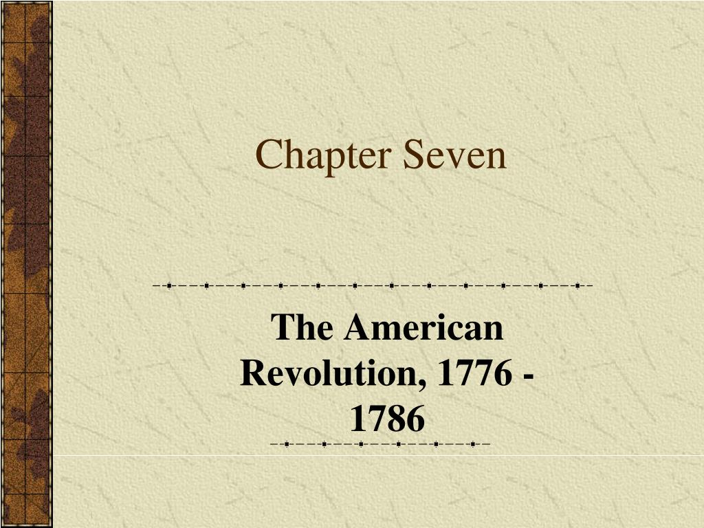 chapter seven l.