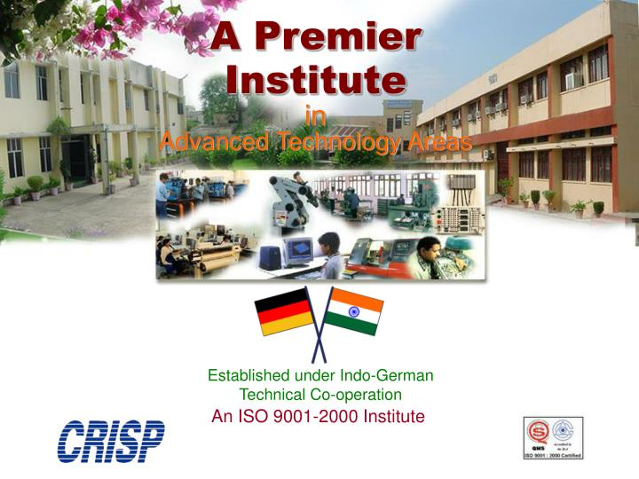 An ISO 9001-2000 Institute