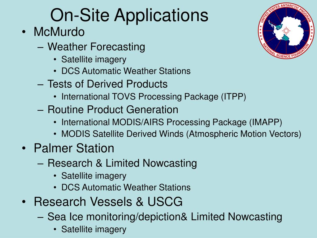 On-Site Applications