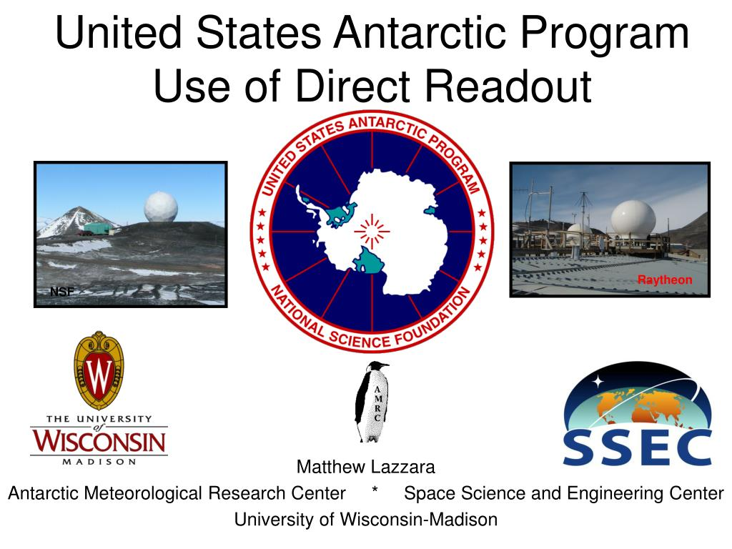 united states antarctic program use of direct readout l.