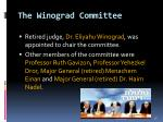 the winograd committee18