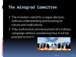 the winograd committee28