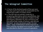 the winograd committee29