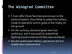 the winograd committee30