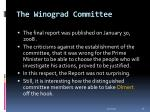 the winograd committee33