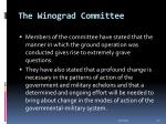 the winograd committee34