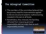 the winograd committee35