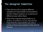 the winograd committee36