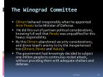 the winograd committee39