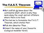 the f a s t theorem