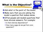 what is the objective