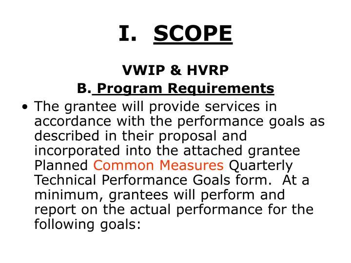 I scope