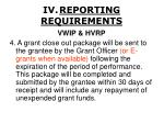 iv reporting requirements26