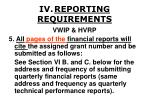 iv reporting requirements27