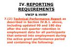 iv reporting requirements38