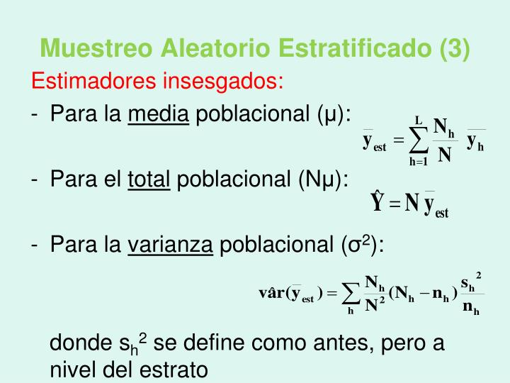 Muestreo Aleatorio Estratificado (3)