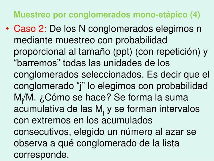 Muestreo por conglomerados mono-etápico (4)