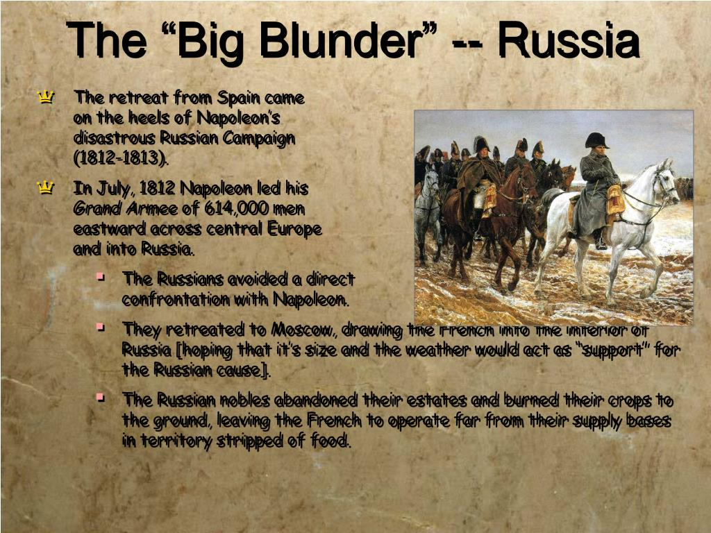 """The """"Big Blunder"""" -- Russia"""