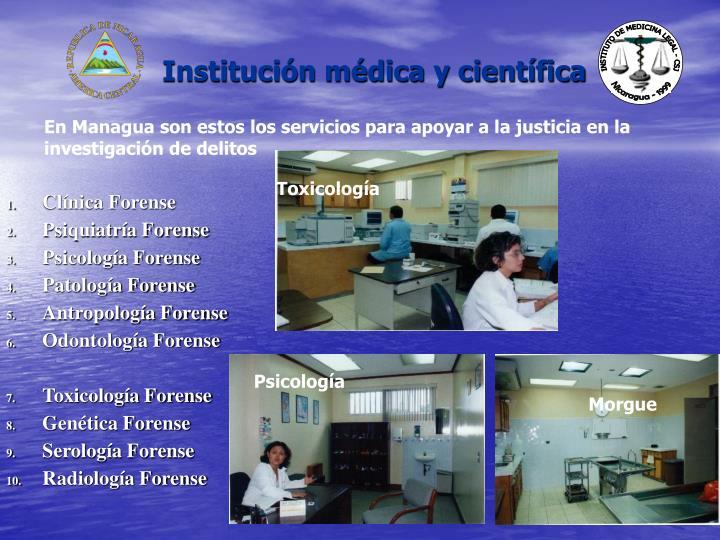 Institución médica y científica