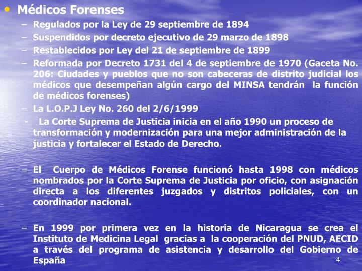Médicos Forenses