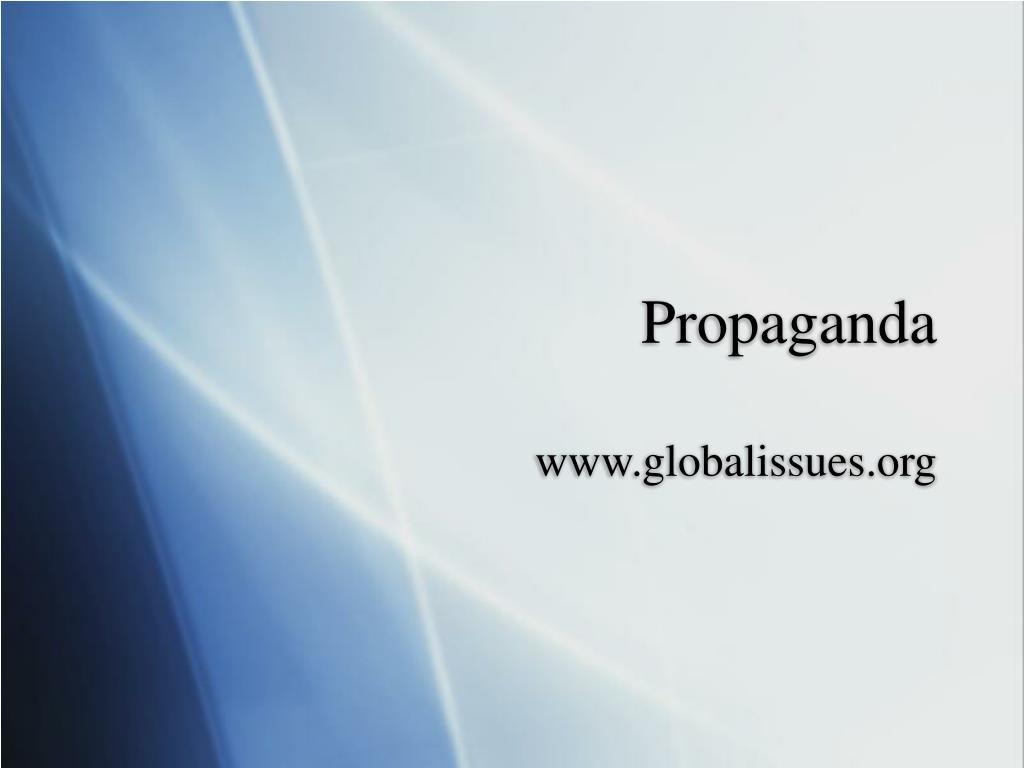 propaganda l.