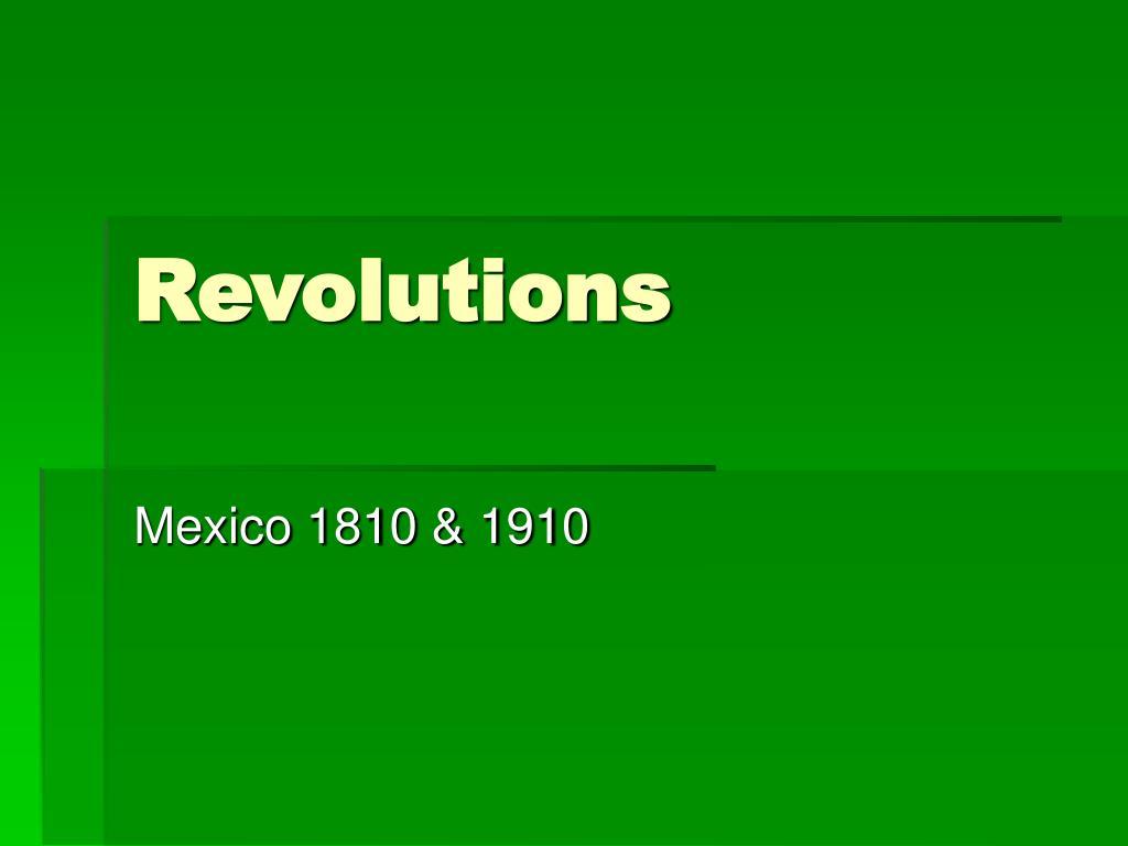revolutions l.