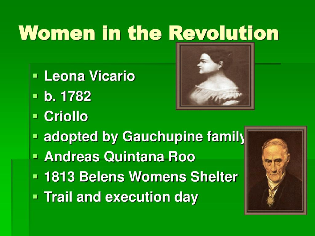 Women in the Revolution