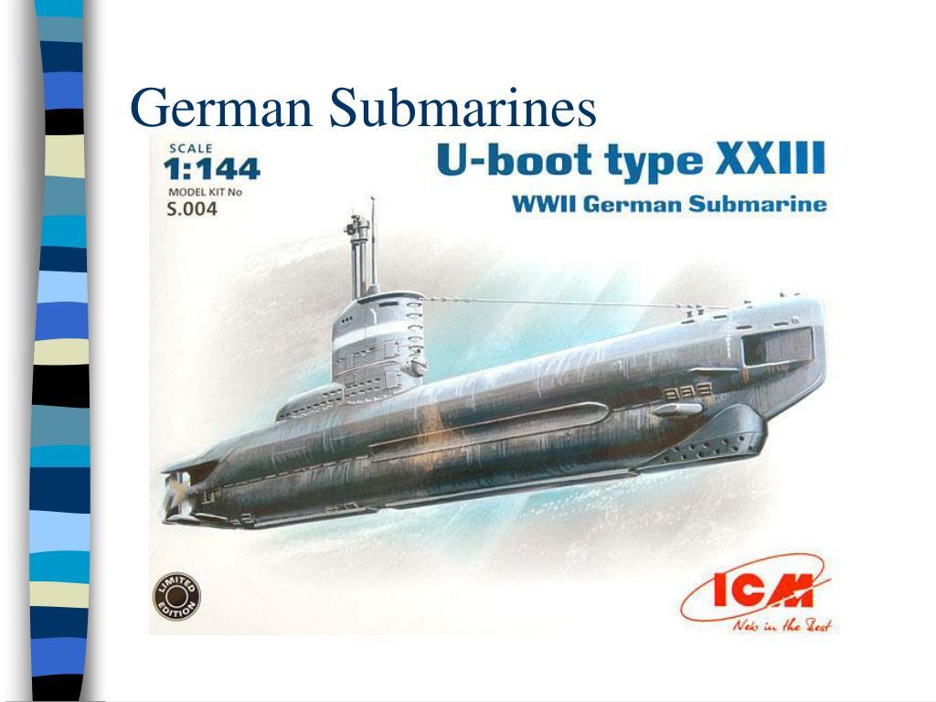 German Submarines