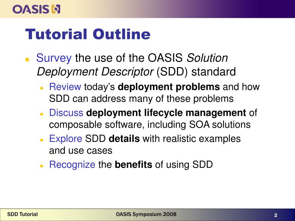 PPT - Solution Deployment Descriptor: An OASIS Standard for