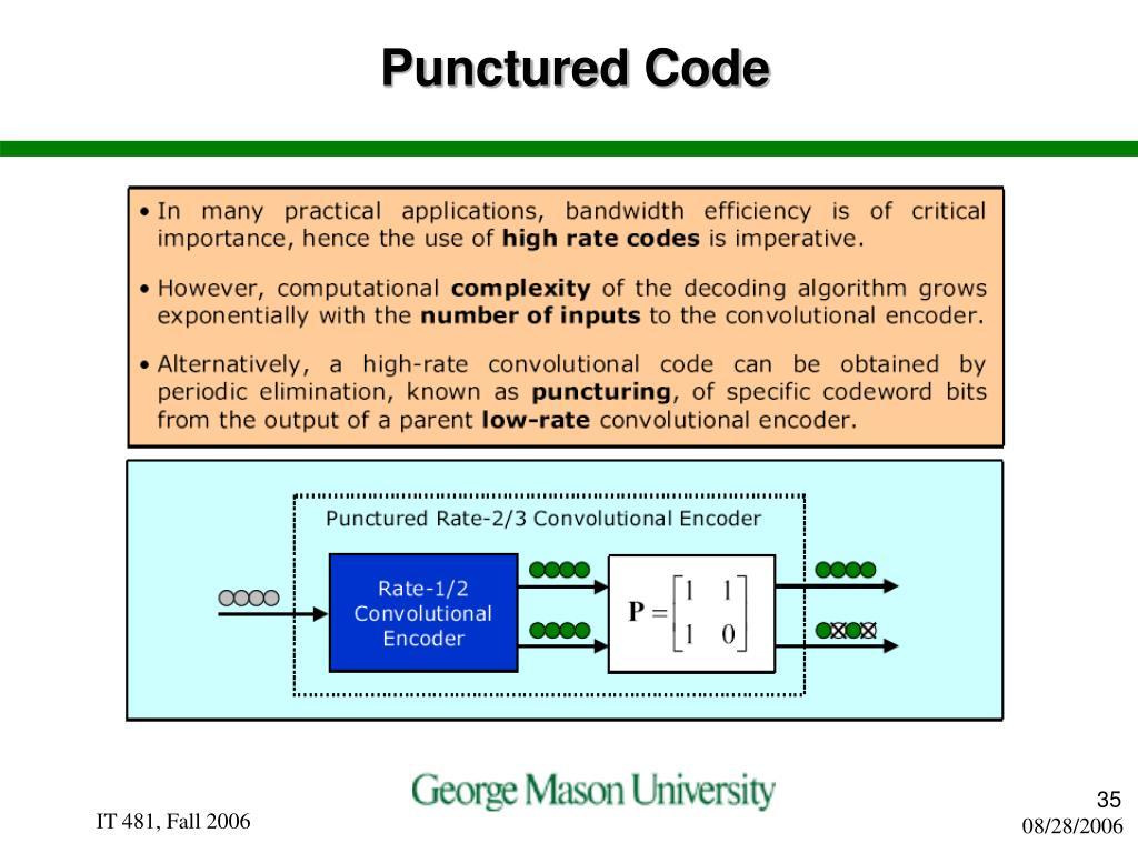 Punctured Code