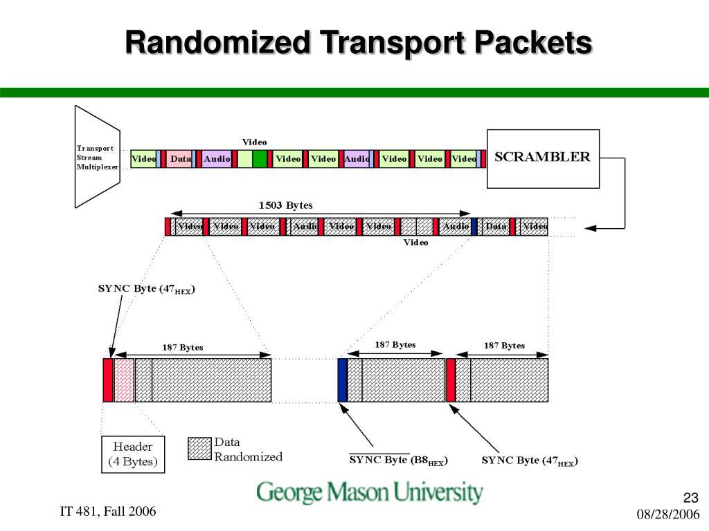 Randomized Transport Packets