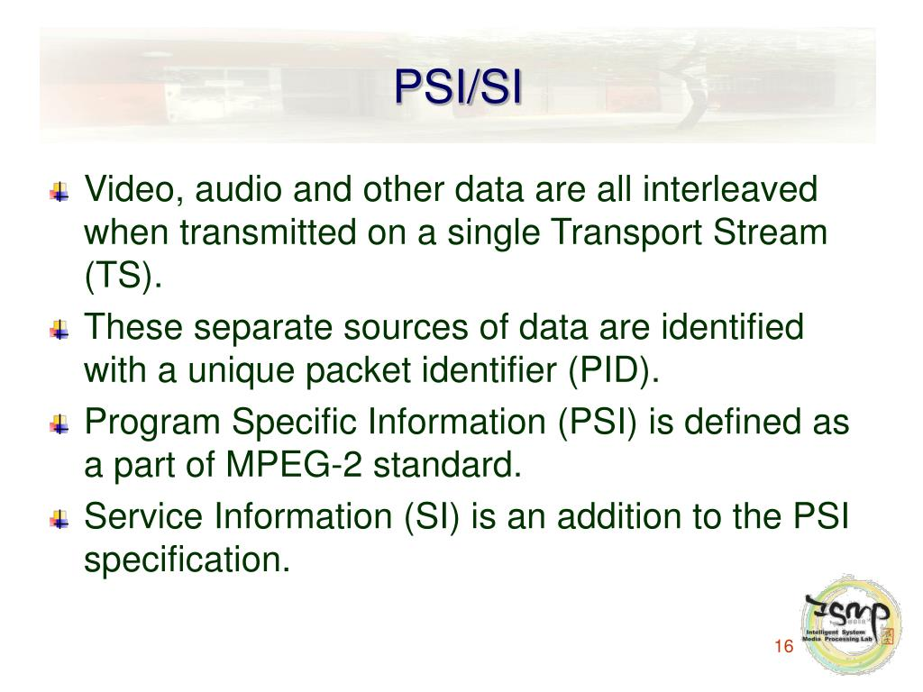 PSI/SI
