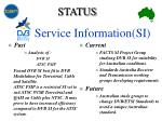 service information si3