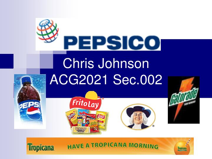 an executive summary of pepsico Executive summary § trian beneficially owns in excess of $13bn of pepsico shares, making it one of the largest positions in our portfolio § we believe the status quo is unsustainable pepsico has significantly underperformed over a prolonged period of time - total shareholder return (tsr.