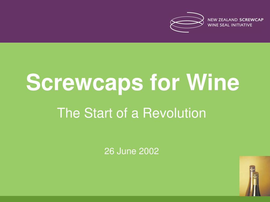 screwcaps for wine l.
