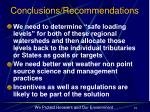 conclusions recommendations19
