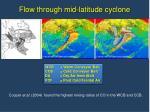 flow through mid latitude cyclone