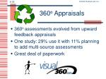 360 o appraisals