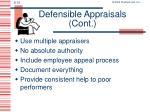 defensible appraisals cont1