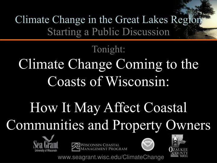 Climate Change in the Great Lakes Region