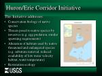 huron erie corridor initiative