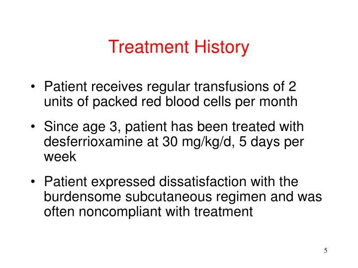 Treatment History