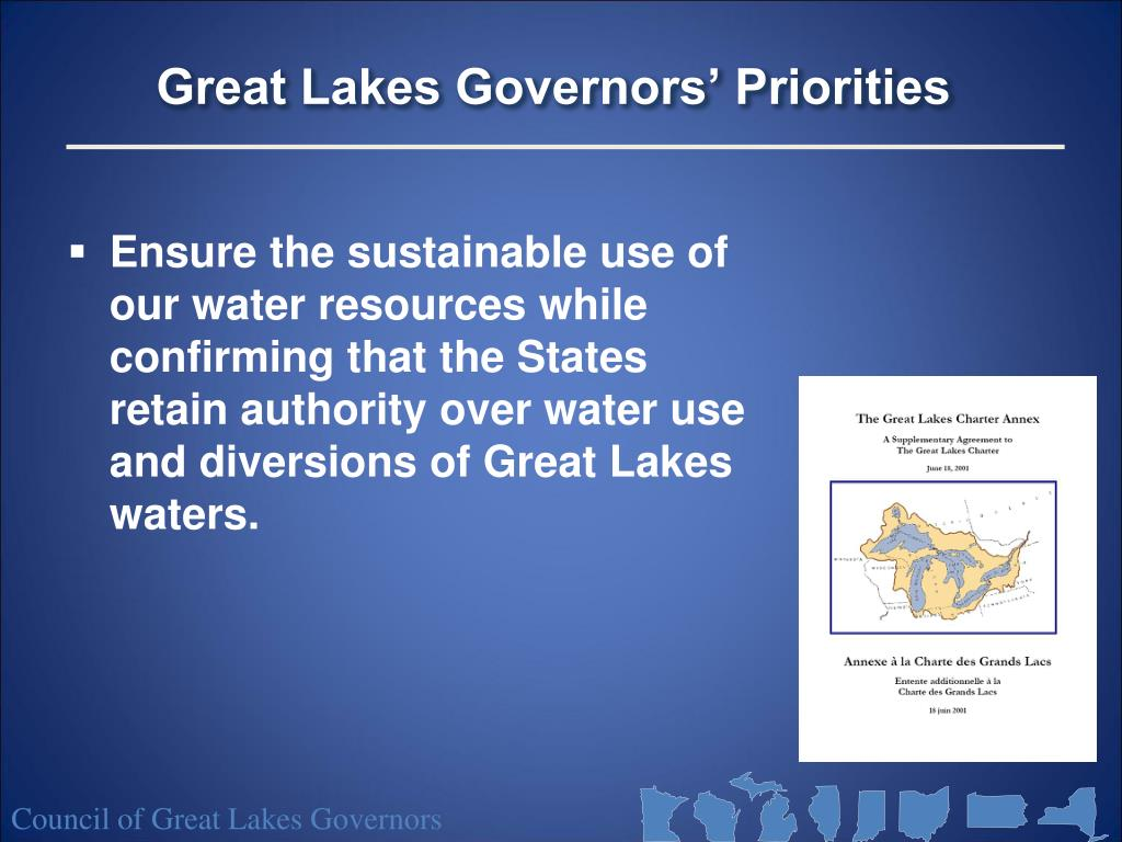 Great Lakes Governors' Priorities
