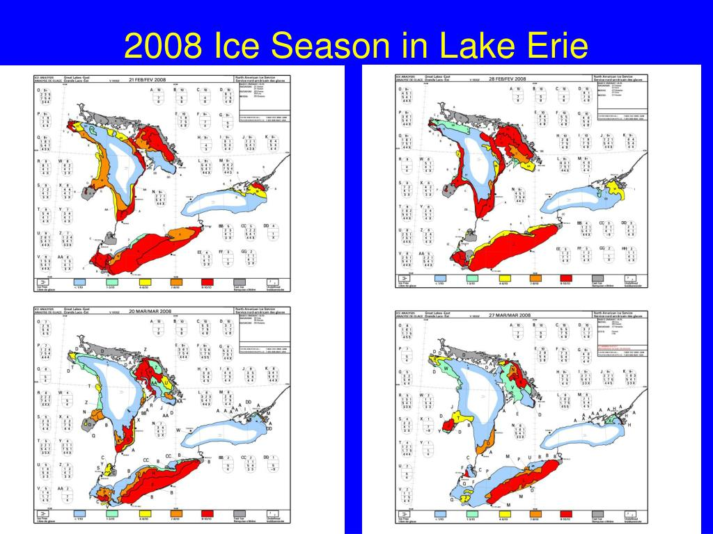 2008 Ice Season in Lake Erie
