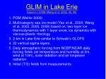 glim in lake erie based on ciom wang et al 2002 05 08